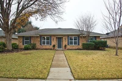Plano Single Family Home Active Option Contract: 2600 Deep Valley Trail