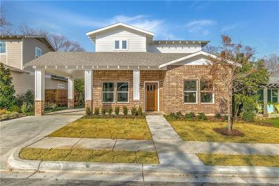 Fort Worth Single Family Home For Sale: 2112 Harrison Avenue