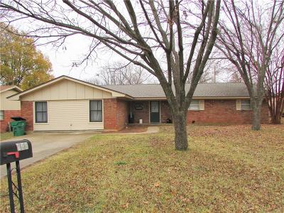 Stephenville TX Single Family Home For Sale: $159,000