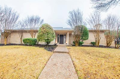 Plano Single Family Home Active Option Contract: 3113 Chimneyrock Drive
