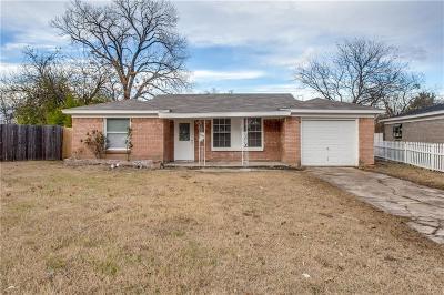 White Settlement Single Family Home For Sale: 424 Kimbrough Street