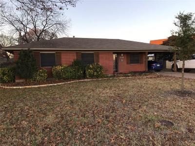 Waxahachie Single Family Home For Sale: 1811 Ferris Avenue