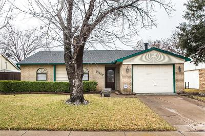 The Colony Single Family Home Active Option Contract: 5217 Miller Circle
