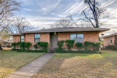 Garland Single Family Home Active Option Contract: 2102 Lynnbrook Lane