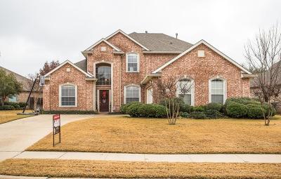 Keller Single Family Home Active Option Contract: 1502 Chase Oaks Drive