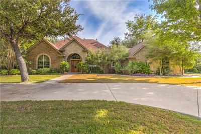 Granbury Single Family Home Active Option Contract: 4400 Cluster Oak Court