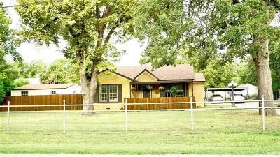 Haltom City Single Family Home Active Option Contract: 3009 Field Street
