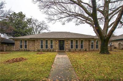 Plano Single Family Home Active Option Contract: 2804 Meadowbrook Drive