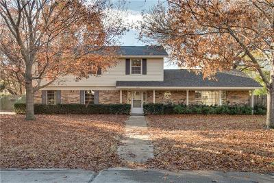 Grapevine Single Family Home Active Option Contract: 2205 Forest Hills Road