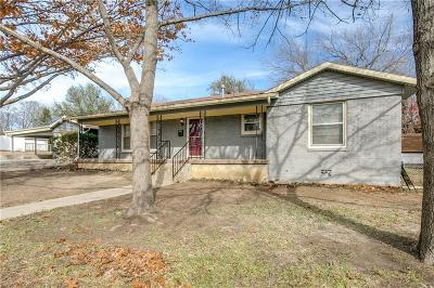 Haltom City Single Family Home Active Option Contract: 3154 Chamness Court