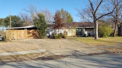 Irving Single Family Home For Sale: 3724 Windsor Street