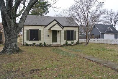 Waxahachie Single Family Home Active Option Contract: 519 Highland