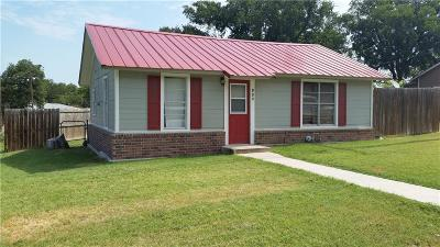 Stephenville TX Single Family Home Active Option Contract: $60,000