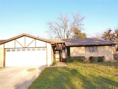 North Richland Hills Residential Lease For Lease: 7004 Briardale