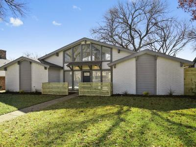 Richardson Single Family Home Active Option Contract: 1706 Yorkshire Drive