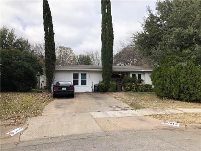 Irving Single Family Home For Sale: 1919 Puritan Drive