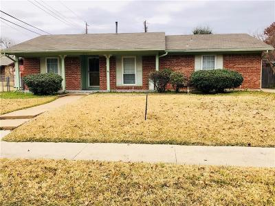 Irving Single Family Home Active Option Contract: 3210 Cardinal Lane