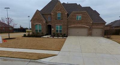 Prosper Single Family Home For Sale: 620 Evening Sun Drive