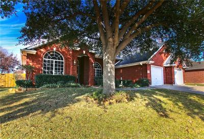 Grand Prairie Single Family Home Active Option Contract: 506 Broadsword Lane