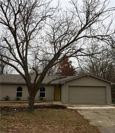 Mansfield Single Family Home Active Option Contract: 1016 E Dallas Street