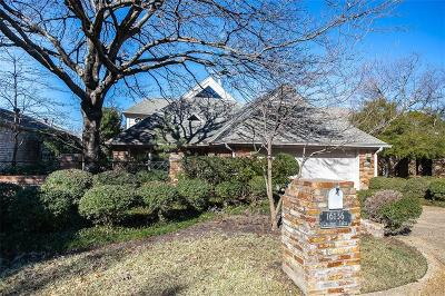 Single Family Home For Sale: 16136 Chalfont Circle