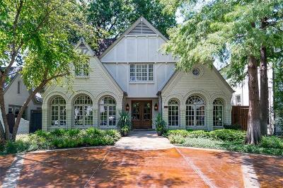 Highland Park Single Family Home For Sale: 4311 Potomac Avenue