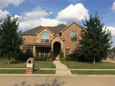 Mansfield Single Family Home For Sale: 704 Montclaire Drive