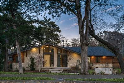 Dallas Single Family Home Active Contingent: 1711 Timbergrove Circle