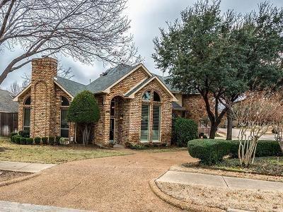 Carrollton Single Family Home Active Option Contract: 2711 Berkshire Drive