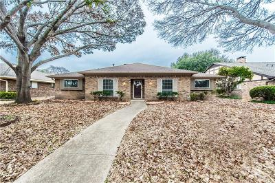 Richardson Single Family Home For Sale: 612 Goodwin Drive