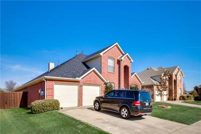 Coppell Single Family Home For Sale: 842 Dalmalley Lane