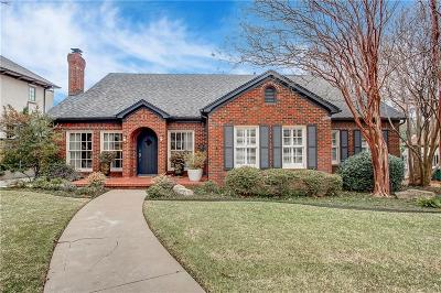 Fort Worth Single Family Home For Sale: 3914 Hamilton Avenue