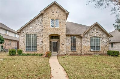 Coppell Single Family Home Active Option Contract: 113 Branchwood Trail