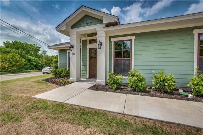 Waxahachie Single Family Home Active Contingent: 1201 Wyatt Street