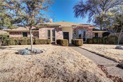 Richardson Single Family Home Active Option Contract: 1509 Braeburn Drive