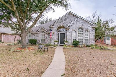 Frisco Single Family Home Active Option Contract: 11501 Amber Valley Drive