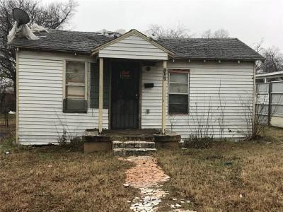 Dallas Single Family Home For Sale: 1346 Strickland Street