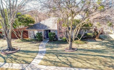 Plano Single Family Home Active Option Contract: 3209 Wrangler Road