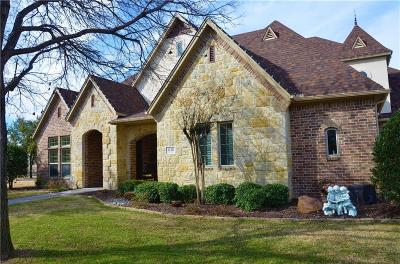 Lewisville Single Family Home For Sale: 1128 King Mark Drive