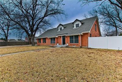 Garland Single Family Home Active Option Contract: 2137 John Sharp Circle