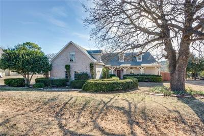 Granbury Single Family Home Active Kick Out: 9516 Ravenswood Road
