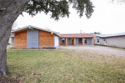 Single Family Home For Sale: 3524 High Vista Drive