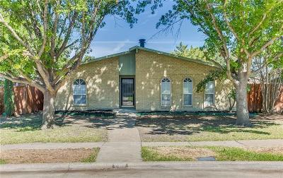The Colony Single Family Home Active Contingent: 4917 Ashlock Drive