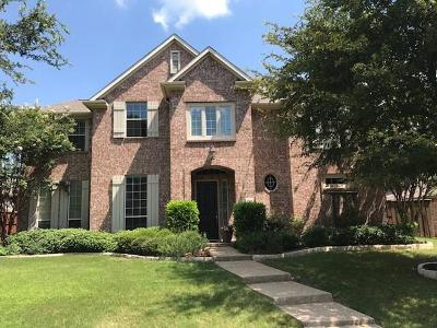 Frisco Single Family Home Active Option Contract: 1960 Dowelling Drive