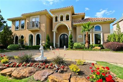 Plano Single Family Home Active Contingent: 6905 Crystal Falls Drive