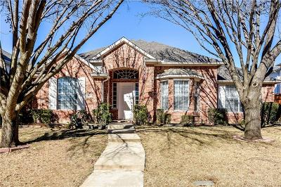 Richardson Single Family Home Active Option Contract: 4417 Courtney Lane