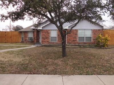Sachse Residential Lease For Lease: 5114 Ben Davis Road