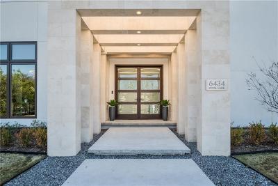 Single Family Home For Sale: 6434 Royal Lane