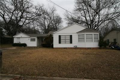 Canton TX Single Family Home Active Option Contract: $68,900