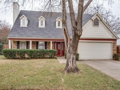 Grapevine Single Family Home Active Option Contract: 4364 Bradford Drive